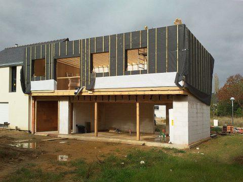 Comment est réalisée l'extension d'une maison ?